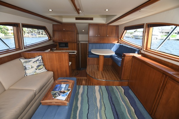 2005 Bertram 45 Convertible  Summer Salt  Salon