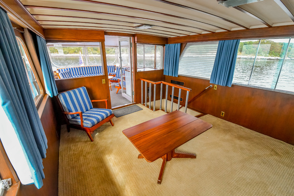 1973 Trumpy 60' Houseboat SIRIUS   Picture 6 of 20
