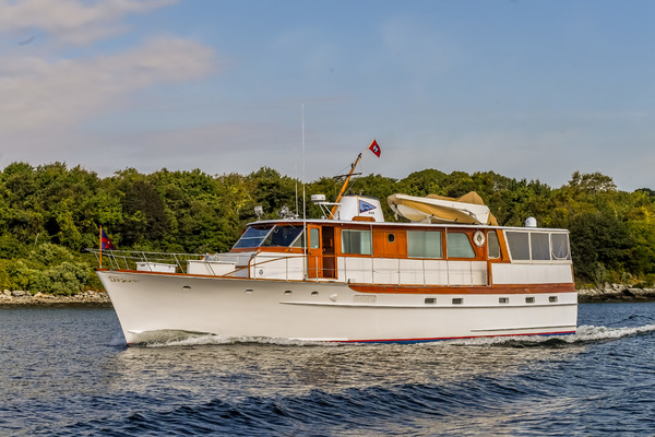 1973 Trumpy 60' Houseboat SIRIUS   Picture 2 of 20