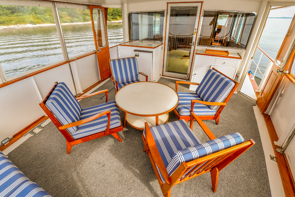1973 Trumpy 60' Houseboat SIRIUS   Picture 5 of 20