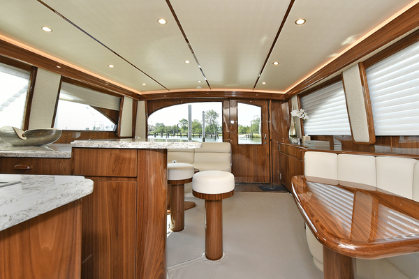 2019 Viking 48' 48 Convertible   | Picture 8 of 38