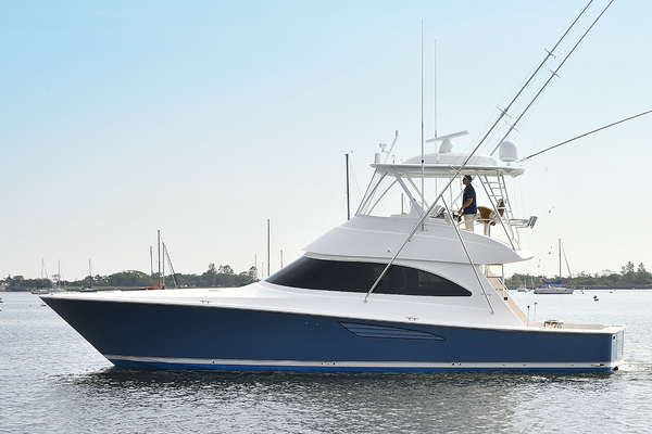 2019 Viking 48' 48 Convertible   | Picture 1 of 38
