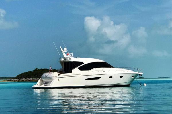 58' Tiara Yachts 5800 Sovran 2009 | Galati Yacht Sales Trade