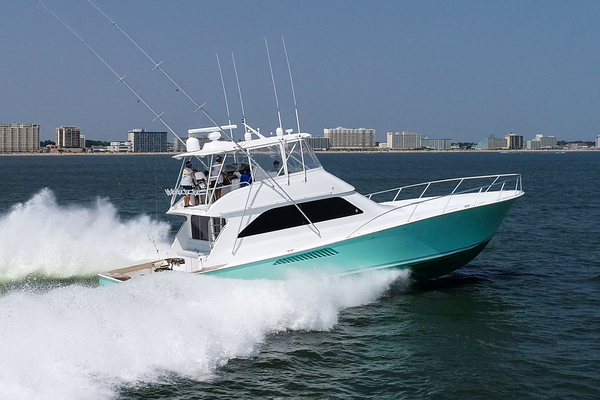 61' Viking 61 Convertible 2003 | Reel Naughty
