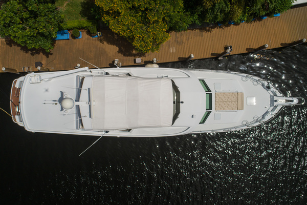 1998 Hatteras 74' Sport Deck Our Trade | Picture 3 of 72