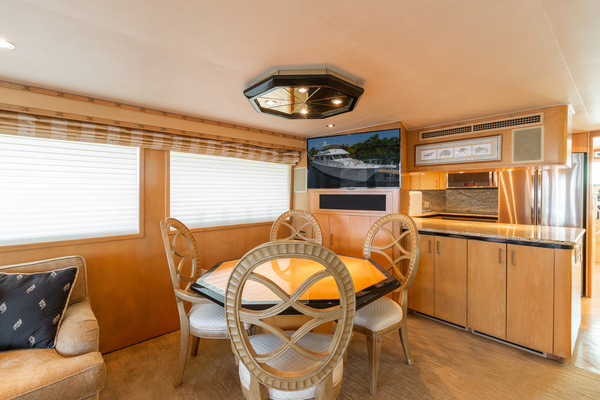 1998 Hatteras 74' Sport Deck Our Trade | Picture 2 of 72