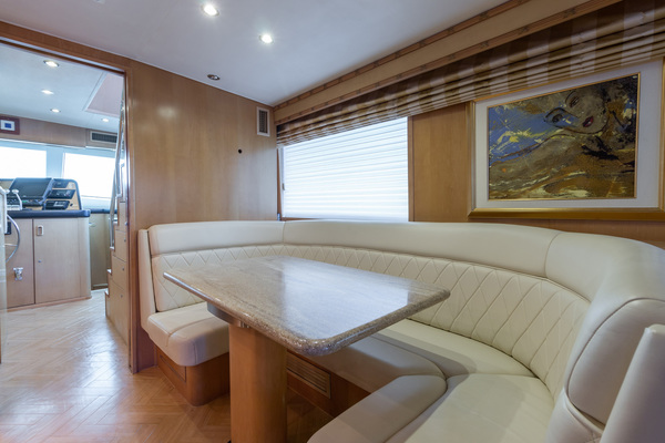 1998 Hatteras 74' Sport Deck Our Trade | Picture 5 of 72