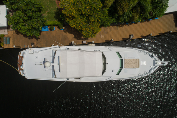 1998 Hatteras 74' Sport Deck Our Trade | Picture 4 of 72