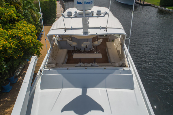 1998 Hatteras 74' Sport Deck Our Trade | Picture 8 of 72