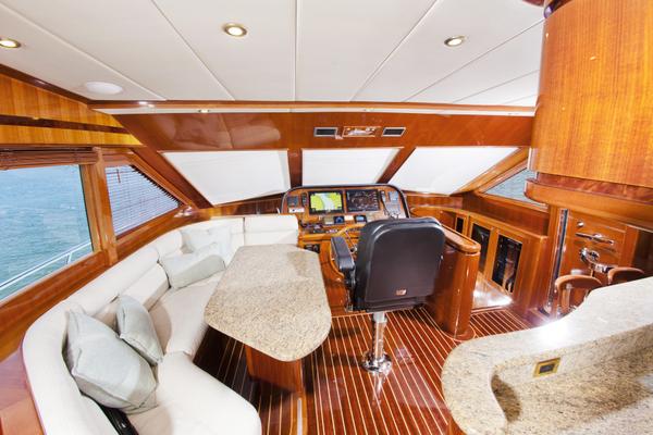 2010 Hampton 58' Pilothouse Motoryacht Relentless | Picture 5 of 54