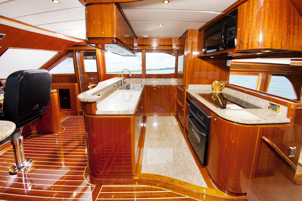 2010 Hampton 58' Pilothouse Motoryacht Relentless | Picture 2 of 54