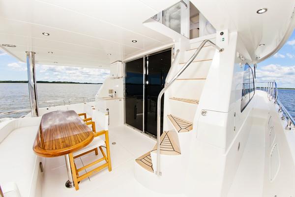 2010 Hampton 58' Pilothouse Motoryacht Relentless | Picture 8 of 54