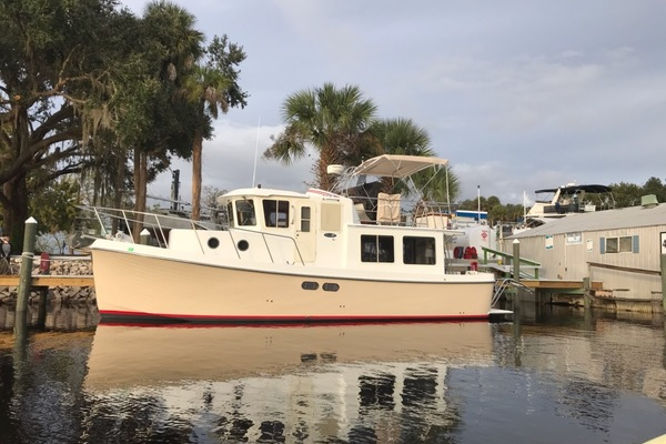 34-ft-American Tug-2003-34 Pilothouse Trawler-Chelsea Daytona Beach Florida United States  yacht for sale