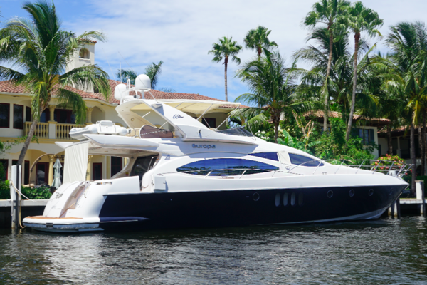 68-ft-Azimut-2005--EUROPA Fort Lauderdal Florida United States  yacht for sale
