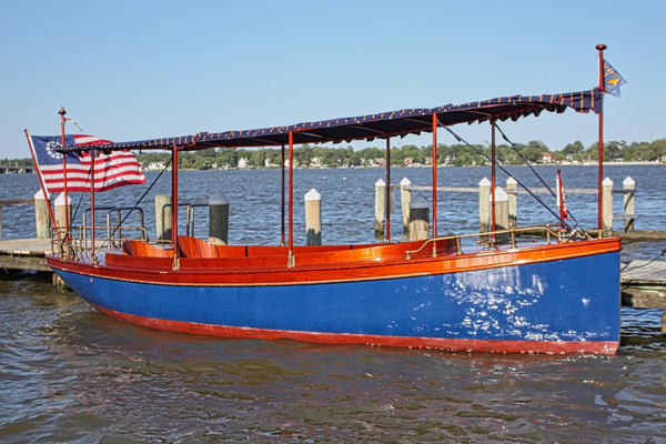 24-ft-Elco-2004-24 Fantail Launch-Miss Donna Norfolk Virginia United States  yacht for sale