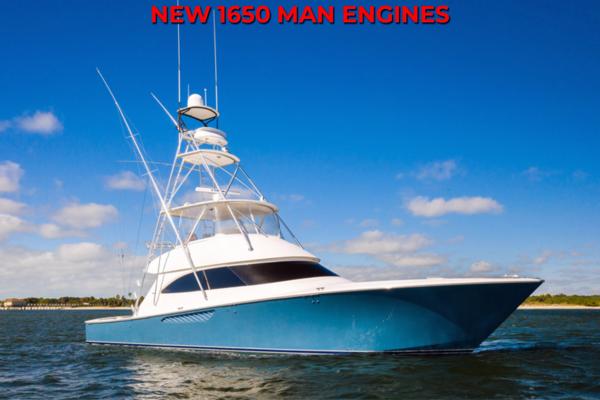 55' Viking 55 Convertible 2013 | Maya