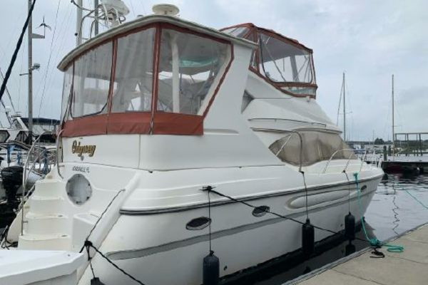 41-ft-Maxum-1998-4100 SCA-Odyssey Jacksonville Florida United States  yacht for sale
