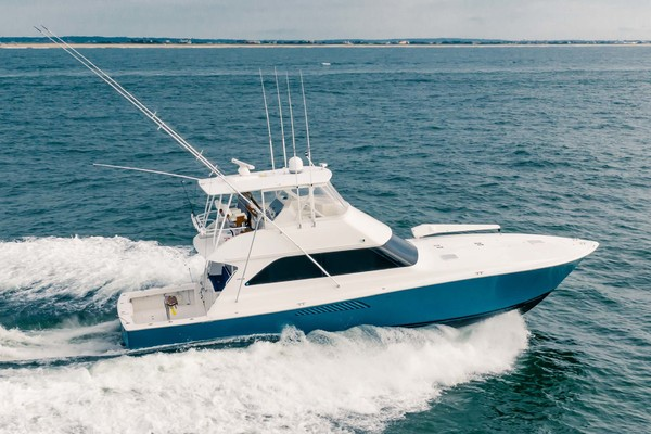 55' Viking Convertible 2001 | Wound Up