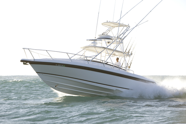 37' Intrepid 377 Walkaround 2005 | Rock Boat Refit 2018