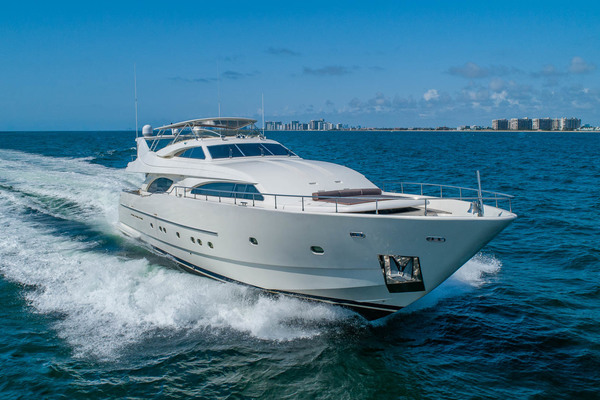 94' Ferretti Yachts  2001 | Sea Spray