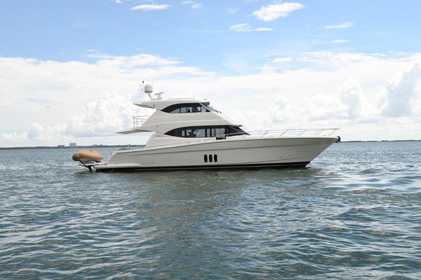2015 Maritimo M58 Yacht  Profile