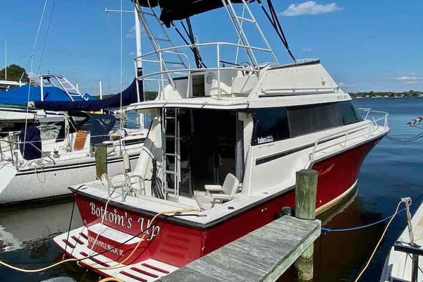 34-ft-Luhrs-1990-3400 Motor Yacht-Bottom's Up Edgewater Maryland United States  yacht for sale