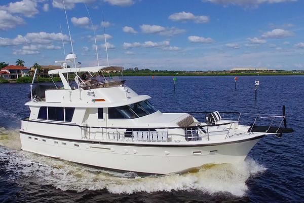 Hatteras 53 Extended Deckhouse Motor Yacht