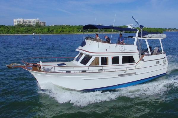 43-ft-Albin-1990-43 SUNDECK TRAWLER-Pretty Sam Sarasota Florida United States  yacht for sale