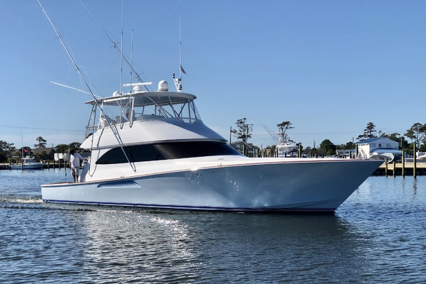 60' Viking Convertible 2008 | Saving Grace
