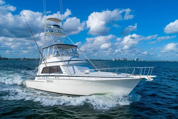 54-ft-Bertram-1989-Sport Fisherman-Ivette VII Coral Gables Florida United States  yacht for sale