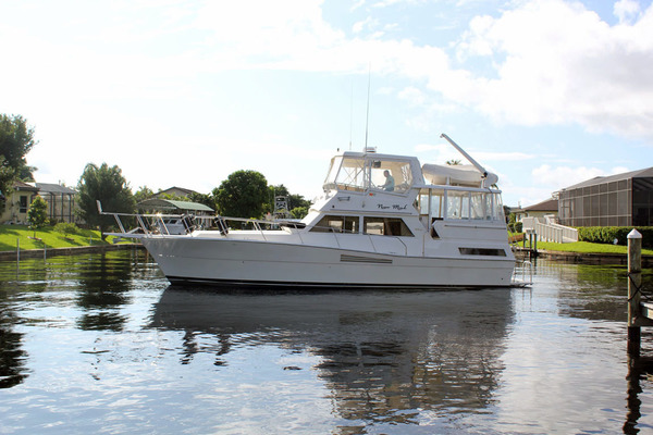 44-ft-Viking-1990-44 Double Cabin-Never Mind Cape Coral Florida United States  yacht for sale