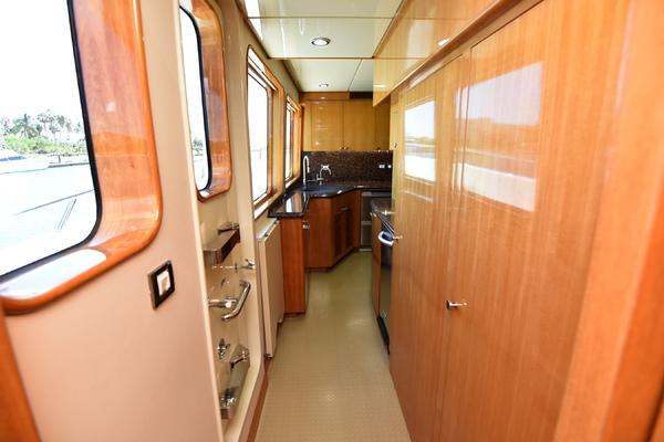 2011 Cheoy Lee 103 103 Cockpit Motor Yacht  Blue S