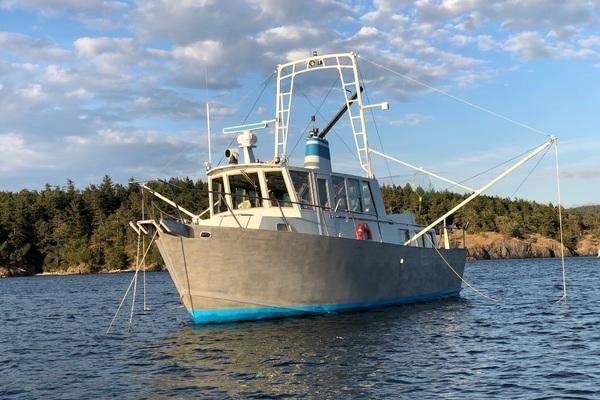 41' Ted Brewer Custom 41 Trawler 1990 | Snapdragon