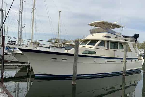 53' Hatteras Yacht Fish 1987 | Shelanu