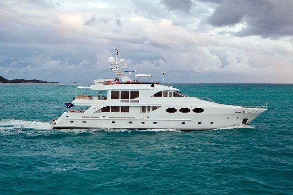 120-ft-Intermarine-2003-120 Tri-Deck M/Y- Miami Florida United States  yacht for sale