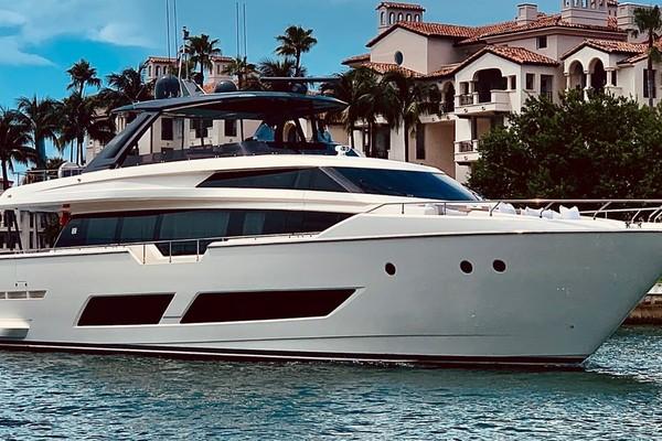 85-ft-Ferretti Yachts-2018-850 Motoryacht-No Name Miami Florida United States  yacht for sale