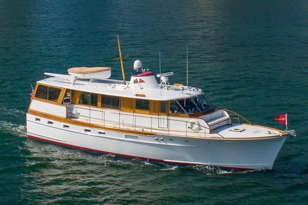 57' Trumpy Houseboat 1971 | Aurora