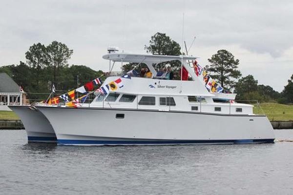 45' Custom B&b Yacht Designs Llc, Catamaran 2014 | Silver Voyager