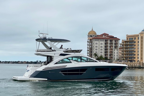 2018 Cruisers 60 Cantius FB  Sea Rhythm III  Starb