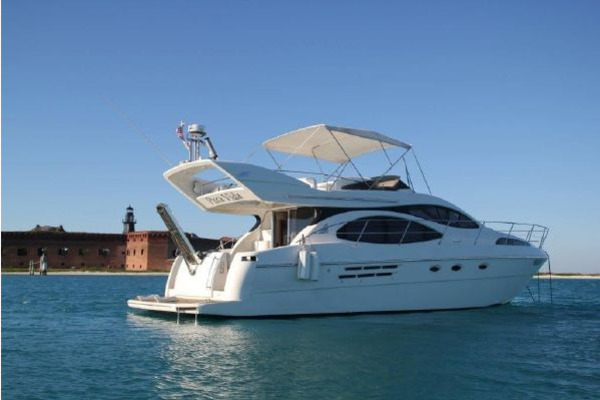 46-ft-Azimut-2000-Flybridge Motor Yacht- Boca Raton Florida United States  yacht for sale