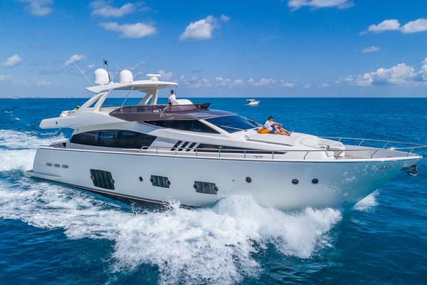 80' Ferretti Yachts 800 2010 | Golden Belle