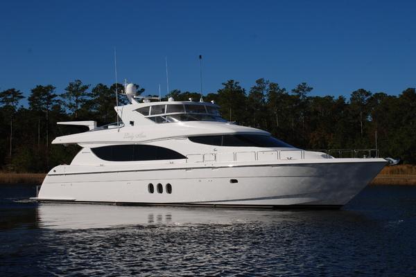 80' Hatteras Motor Yacht 2007 | Lady Ann