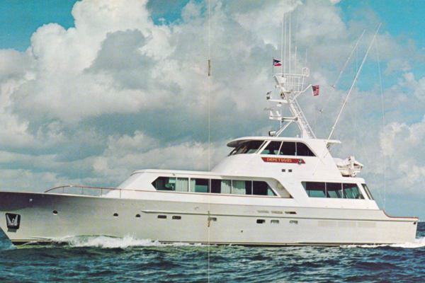 85' Feadship Yacht Fisherman 1977 | Impetuous