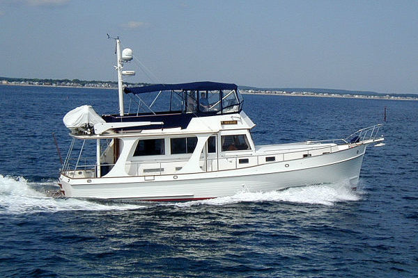46' Grand Banks Europa  2003 | Blue Moon