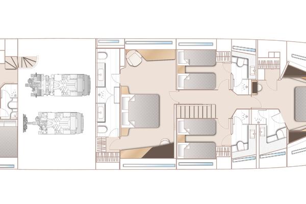 2022Princess 95 ft 95 Motor Yacht   Y95