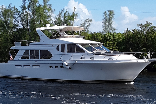 61' Ocean Alexander 610 Pilothouse 2000 | Name Reserved
