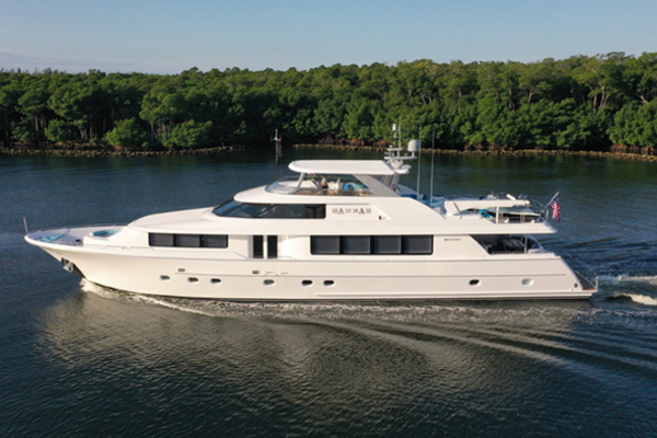 2003 Westport 112 ft Raised Pilothouse - HANNAH