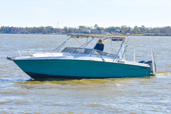 35' Contender 35 Side Console 2002   No Name