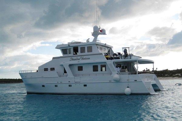 60' Theriault & Son Custom Catamaran 2000 | Slumber Venture
