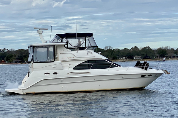 38' Sea Ray 38 Aft Cabin 2001 | Crescent Queen